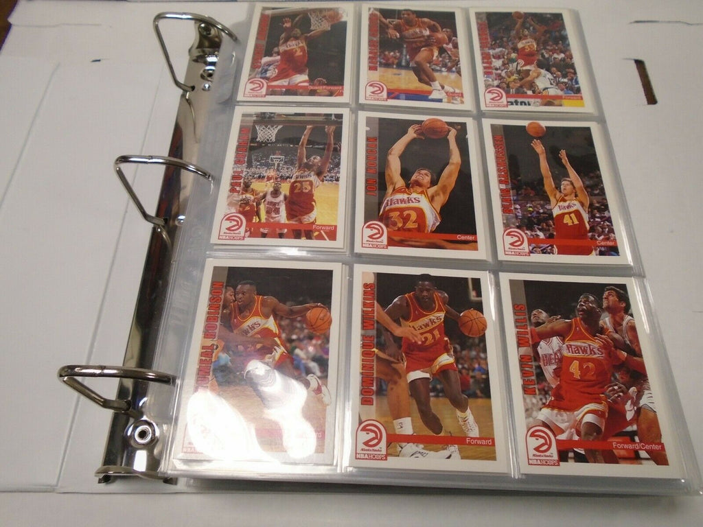NBA Hoops 92'-93' Basketball Complete 490 Card Set w/Inserts MJ 121219AMCS