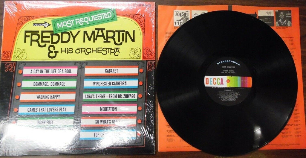 Most Requested Freddy Martin & His Orchestra DL74839 011319LLE