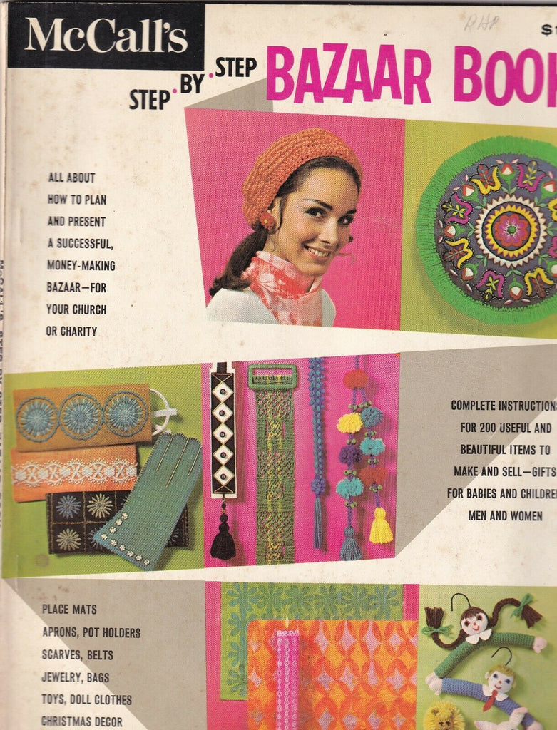 McCall's Step By Step Bazaar Book 1960s 090419nonr