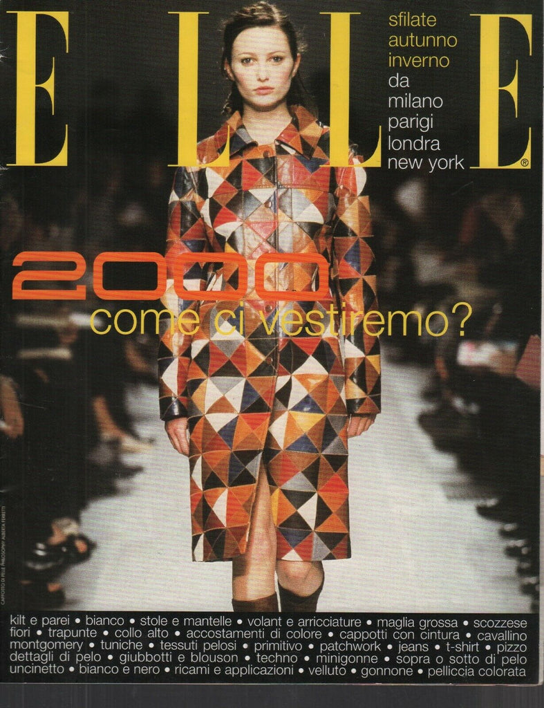 Elle French Supplement Autunno Interno Da Milan Paragi Londra NY 2000 091719AME2