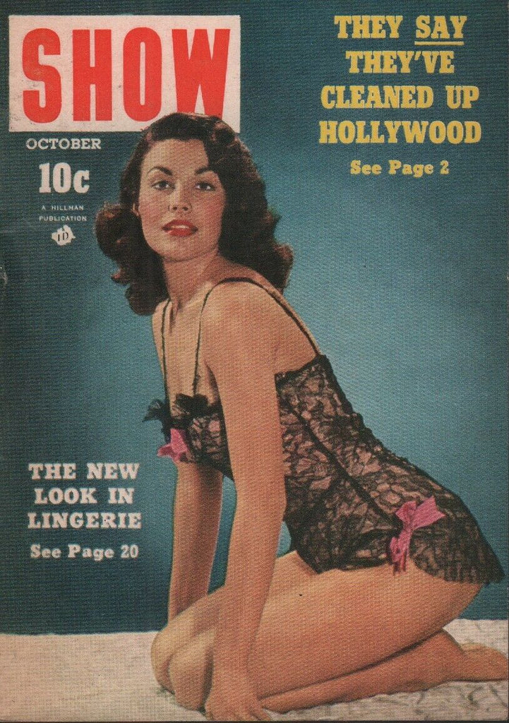 Show Digest October 1952 Shirley Levitt Cheesecake Pin Up 070819AME