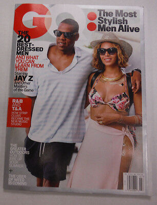 GQ Magazine Jay Z Beyonce July 2015 071515R
