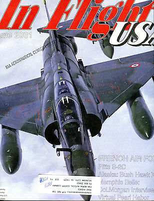 In Flight USA Magazine June 2001 French Air Force EX FAA 030716jhe