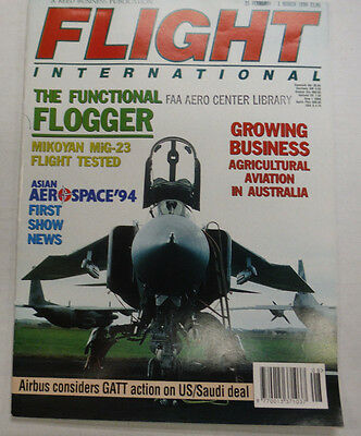 Flight International Magazine The Functional Flogger March 1994 FAL 061015R