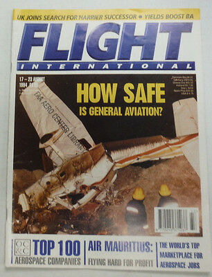 Flight International Magazine Air Mauritius August 1994 FAL 060915R2