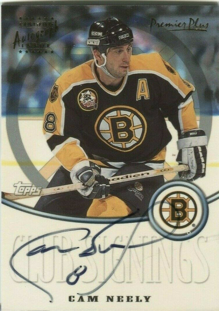 Cam Neely Bruins Certified Autograph Premier Play TOPPS CS2 2000 080919DBCD