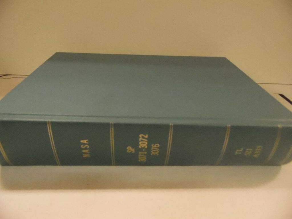 NASA SP 3071-3072, 76 Bound Aerospace Reports Hardcover 1970's Ex-FAA 110518AME3