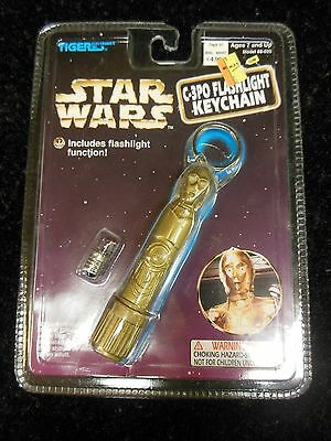 Star Wars C-3PO Flashlight Keychain from Riger Electronics 1997 021814ame2