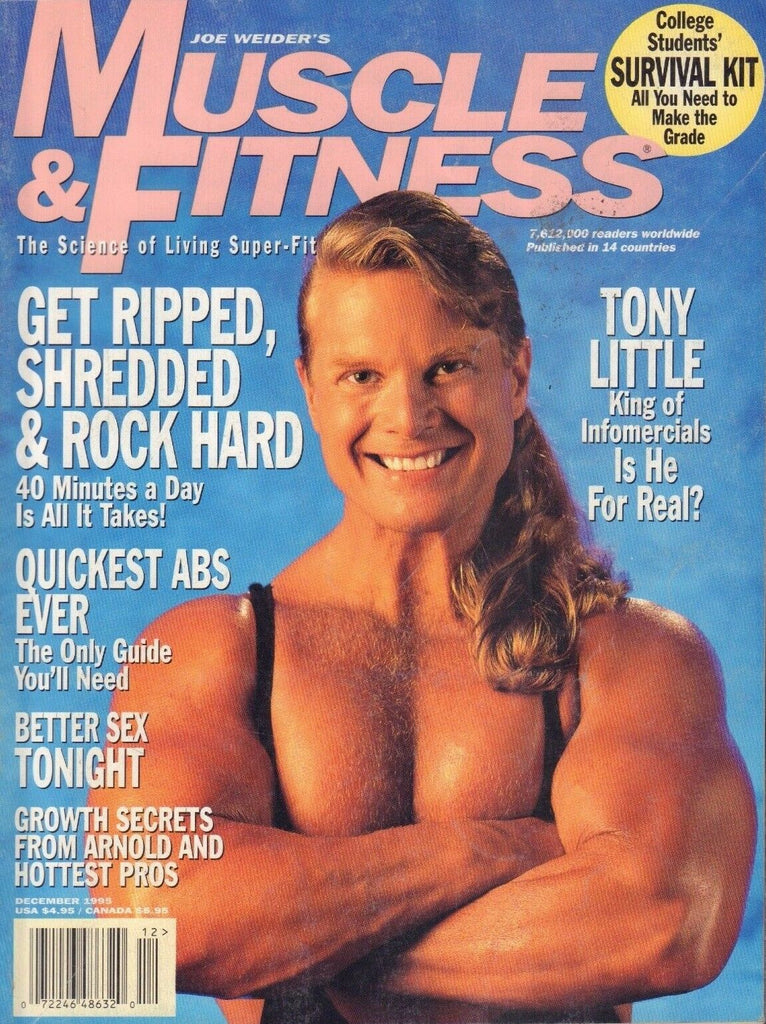 Muscle & fitness December 1995 Tony Little 062117nonDBE