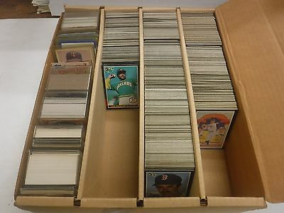1985 Donruss Lot Of Approximately 1500 Cards w/Dupes & Minor Stars jh