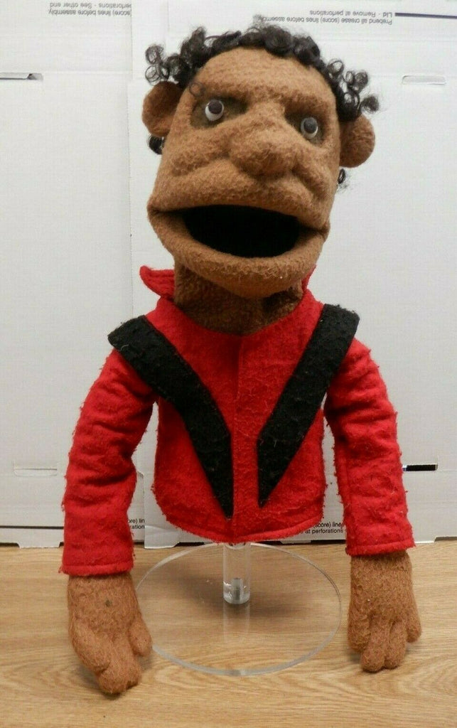 "Micheal Jackson Thriller ONE OF A KIND Hand Puppet 15"" Collectible High Quality"