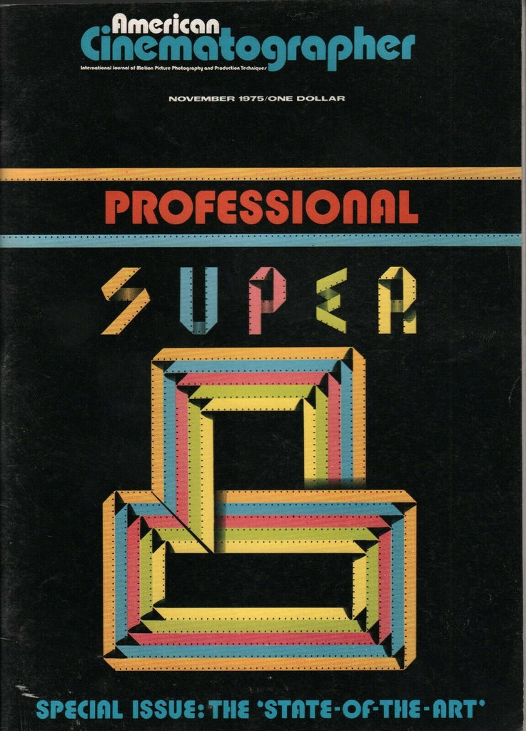 American Cinematographer November 1975 Professional Super State of Art 010420AME