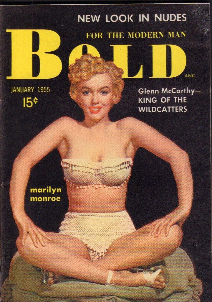 Bold January 1955 Marilyn Monroe Satchmo Pinup Cheesecake Digest 020519DBC