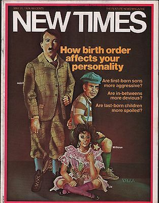 "New Times Magazine May 31 1974 ""Who is Deepthroat"" EX 112315DBE2"