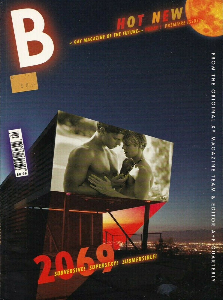 B Magazine Issue 1 Premiere From The Orginal XY Team Gay Interest 060719DBE