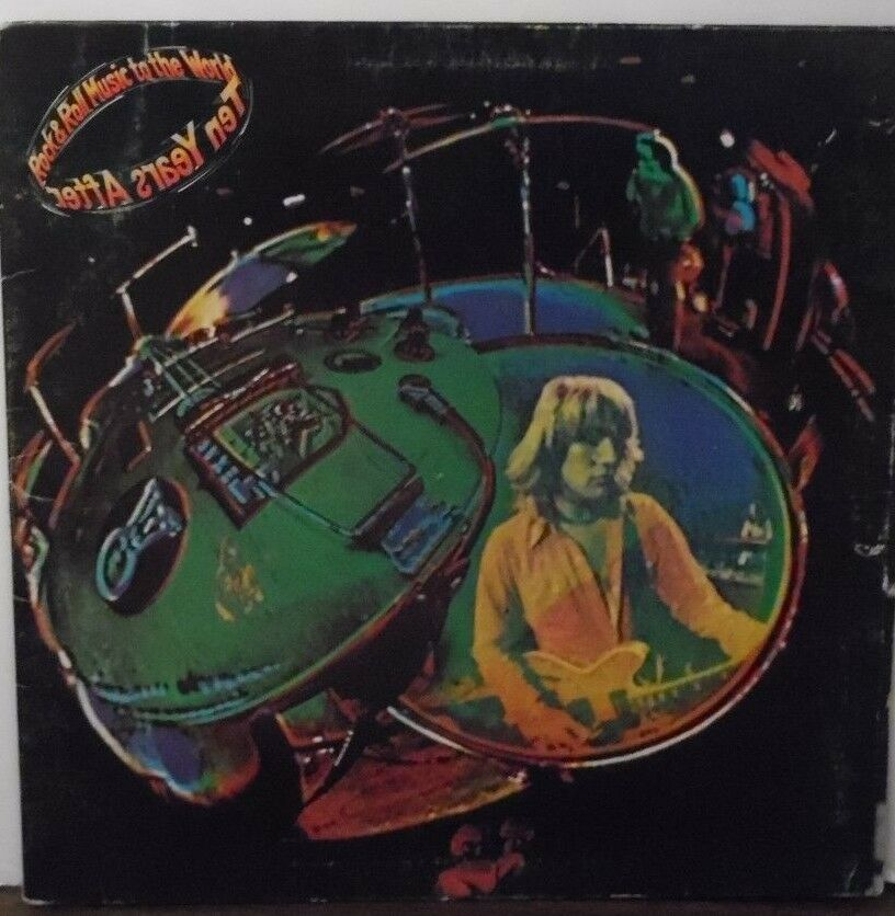 Ten Years After Rock & Roll Music to the World vinyl AL31779 1972 072818LLE