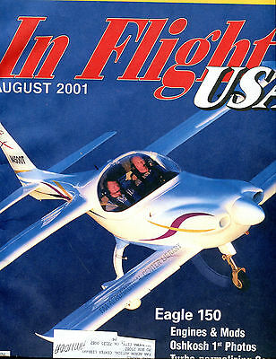 In Flight USA Magazine August 2001 Eagle 150 EX FAA 030716jhe