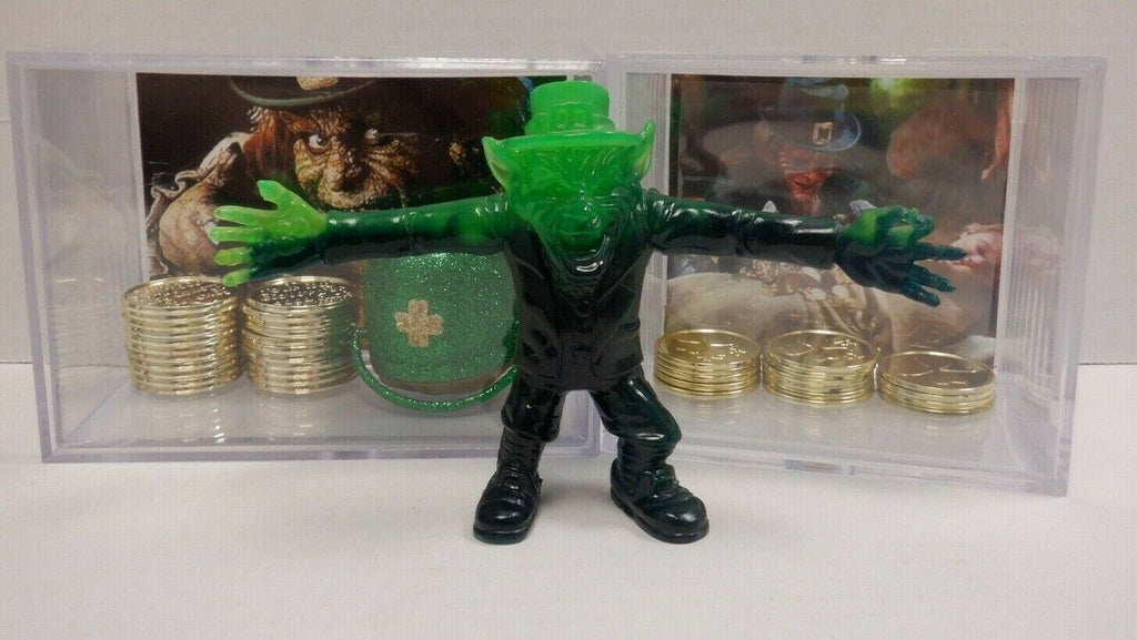 "Leprechaun Movie Figure 4"" CUSTOM REPRODUCTION w/ Toy Coins and Pot 031320DBT2"