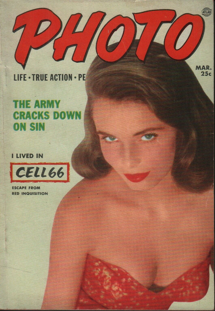 Photo Digest March 1953 Helen Heydon Cheesecake Pin Up 070819AME