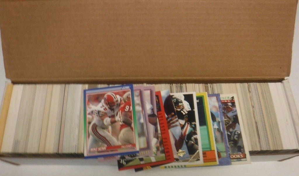 Atlanta Falcons Lot Of Approx. 800 1990's Cards w/Duplicates 103117jh2