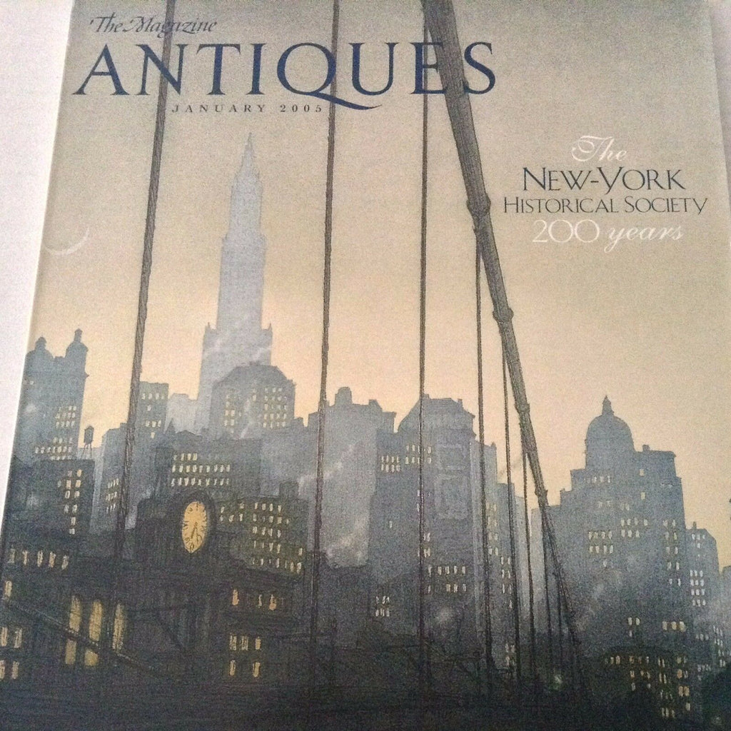 Antiques Magazine New York Historical Society January 2005 071317nonrh3