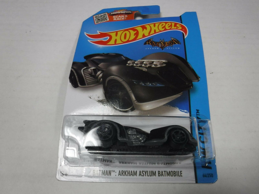 Hot Wheels Hot Wheels Batman: Arkham Asylum Batmobile HW City 64/250 2015 120618AMCAR