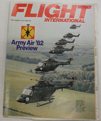 Flight International Magazine Army Air '82 Preview July 1982 FAL 061015R