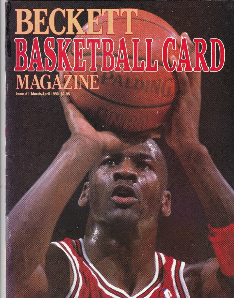 Beckett Baseball Card Mag Michael Jordan March/April 1990 071519nonr