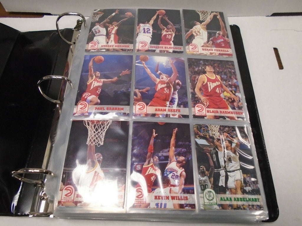 NBA Hoops 93-94' Basketball Complete 421 Card Set w/Inserts MJ Penny 121419AMCS