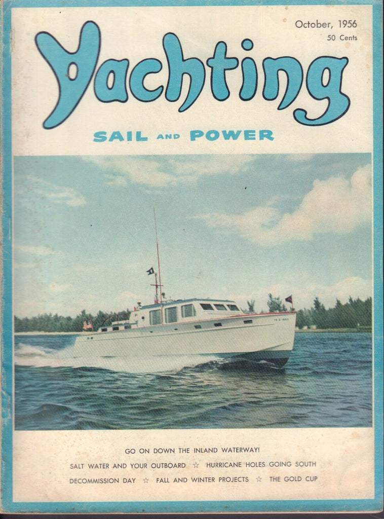 Yachting Power and Sail October 1956 The Gold Cup 032217nonDBE2