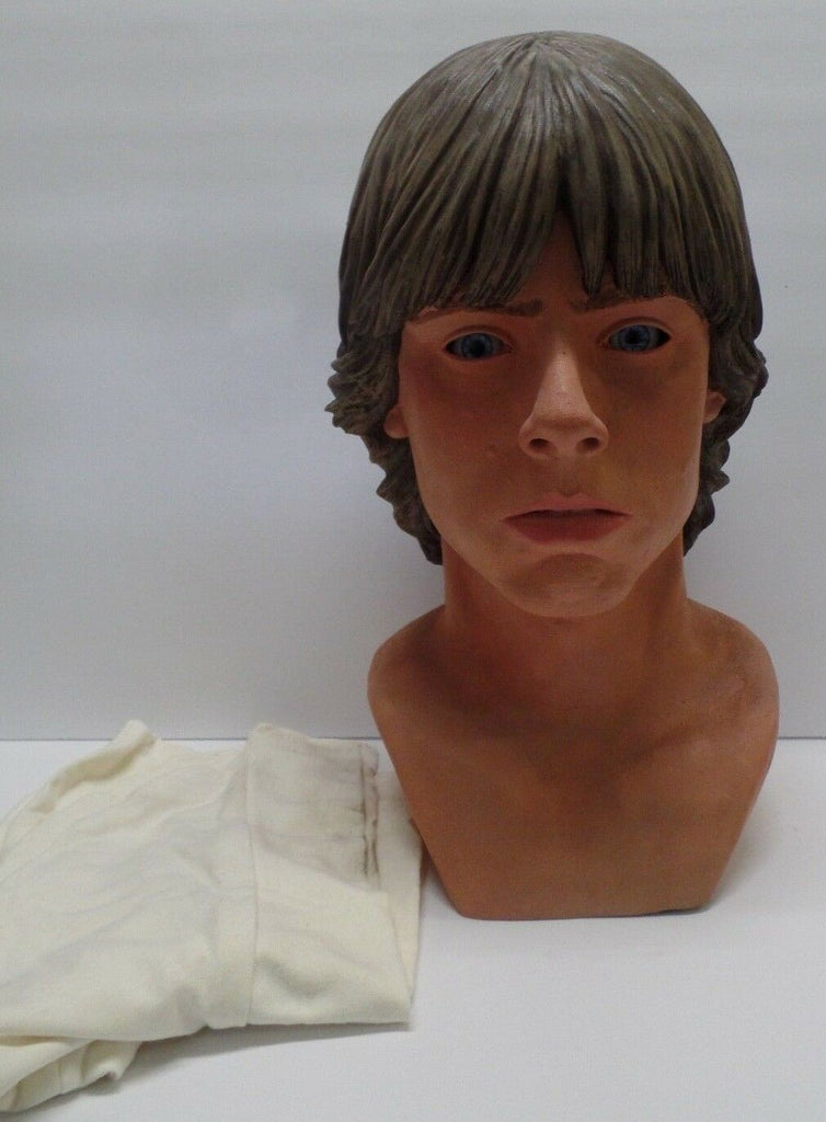 Luke Skywalker Star Wars 1:1 Scale Fiberglass Bust Display Collectible