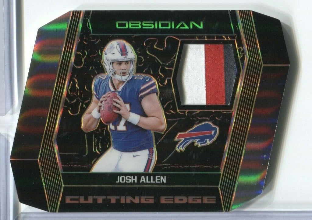 Josh Allen Bills Obsidian Cutting Edge 14/35 CE-12 Panini 2018 011320DBCD