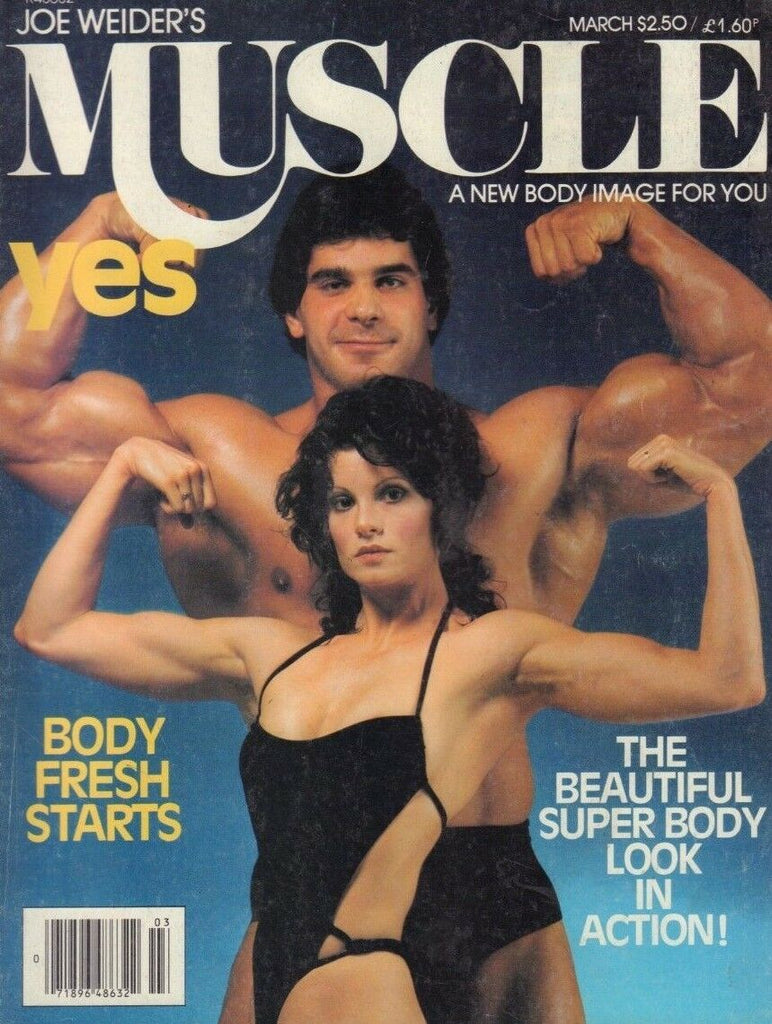 Muscle & Fitness March 1980 Lou Ferrigno Lisa Lyon Boyer Coe 121418DBE
