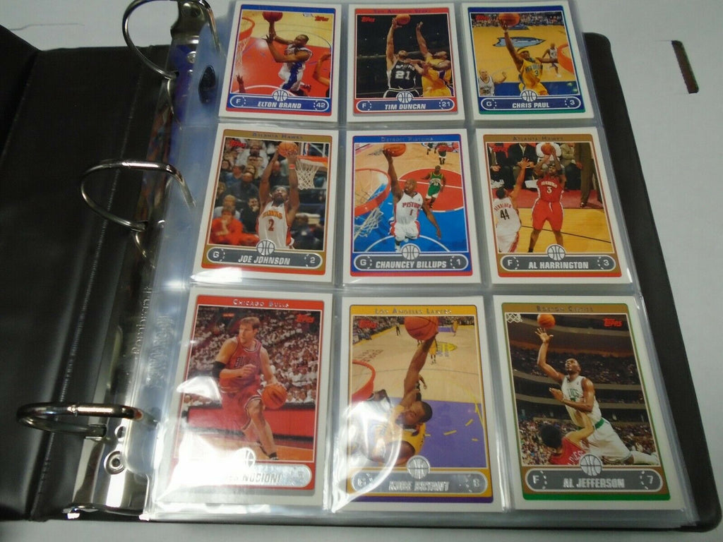 Topps 06-07' BSK Basketball NBA Lebron James RC 265 Card Set 022020AMCS2