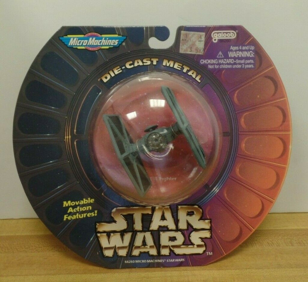 Star Wars Micro Machines Y-Wing TIE Fighter 050119DBT
