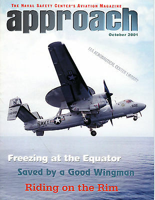 Approach Magazine October 2001 Riding On The Rim EX FAA 030716jhe