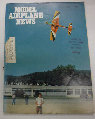 Model Airplane News Magazine Staggerwing Beech December 1976 072115R2