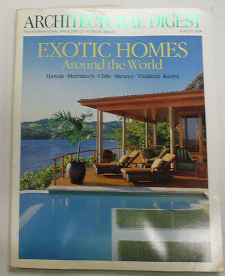 Architectural Digest Magazine Hawaii & Marrakech August 2004 063015R2