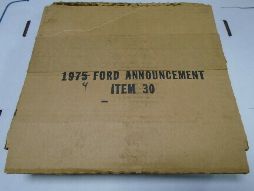 1974 Ford Dealer's Announcement Promo Kit with Interior Samples 111819AMT