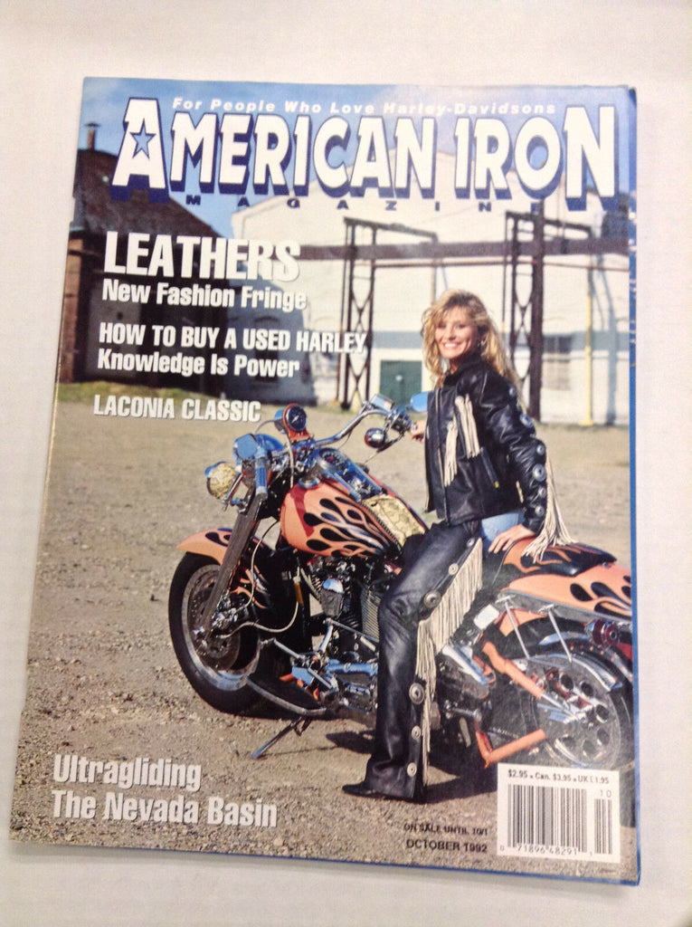 American Iron Magazine How To Buy Used Harley October 1992 031017NONRH