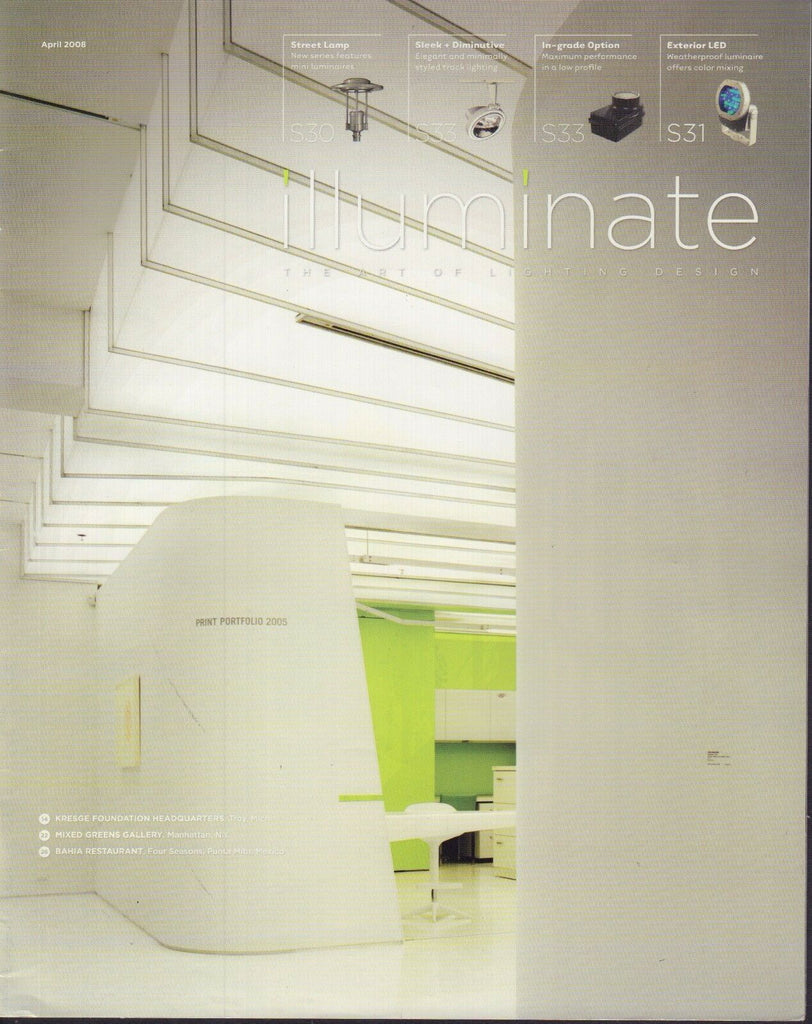 Illuminate Lighting Design Magazine April 2008 Kresge Foundation 072317nonjhe