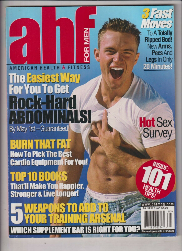 American Health & Fitness Bart Blackwell Rock Hard Abs April/May 2004 030920nonr