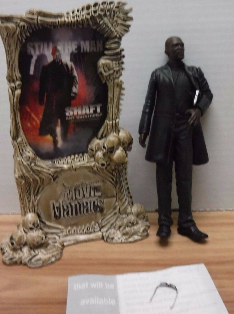 John Shaft Shaft McFarlane Movie Maniacs Figure 042617DBT