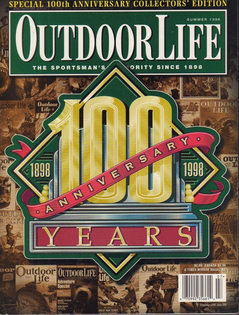 OutdoorLife Summer 1998 100th Anniversary 022317nonDBE2