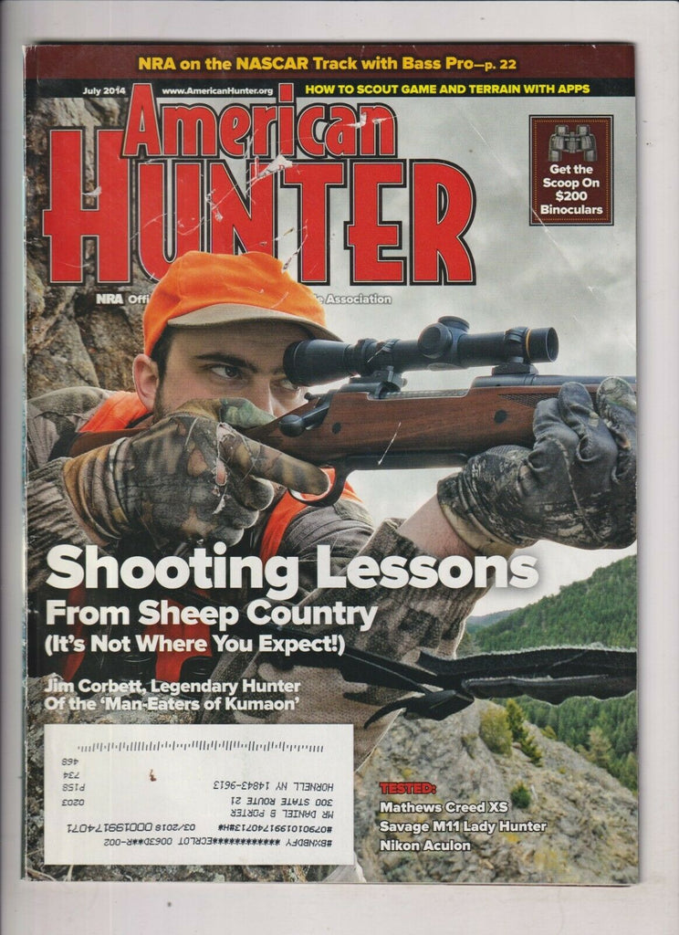 American Hunter Shooting Lessons From Sheep Country July 2014 021020nonr