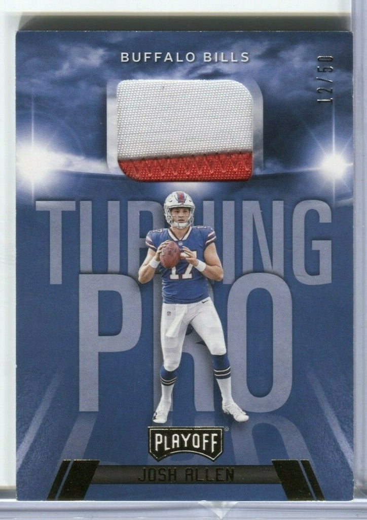 Josh Allen Buffalo Bills Play Off 12/50 Turning Pro TP-JA Panini 011320DBCD