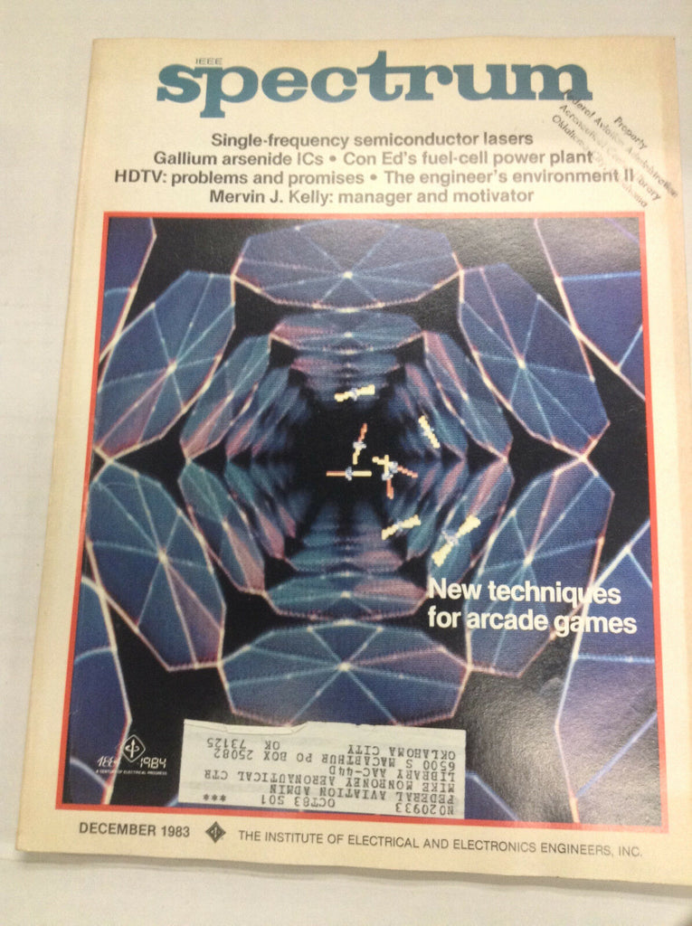 IEEE Spectrum Magazine Single Frequency Conductor December 1983 FAA 042617nonr