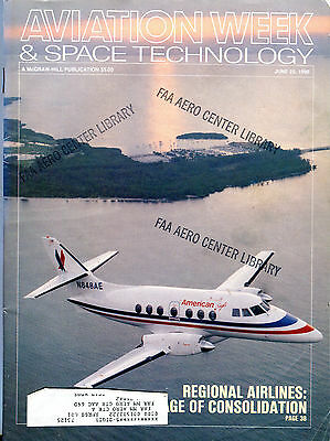 Aviation Week & Space Technology Magazine June 25 1990 EX FAA 030816jhe