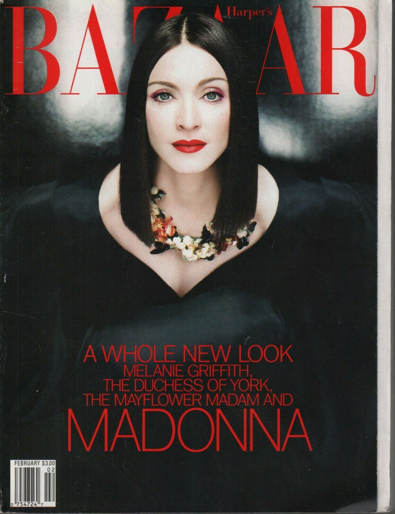 Harper's Bazaar February 1999 Madonna Melanie Griffith Rare Issue 091819AME2