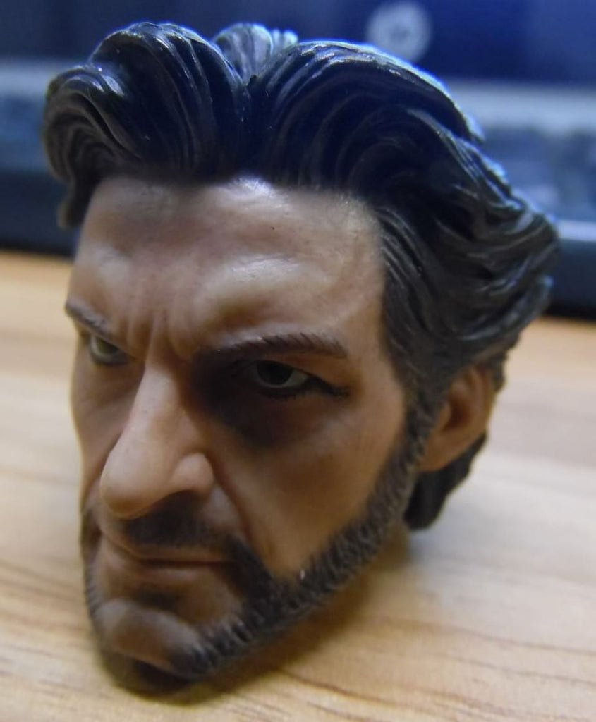 Wolverine 1/6th Scale High Detail Head Sculpt for 1/6th Scale Figures 112118DBT